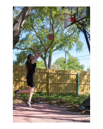 Randy Corn Shannon Basketball 2 8x10
